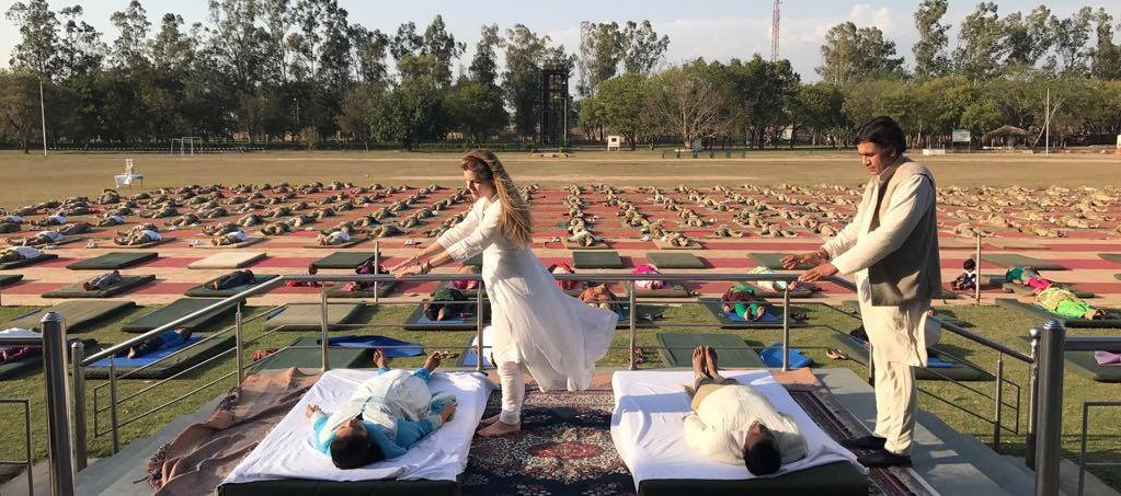 cecilia and vivek sharma kriya healing italy - united states and india