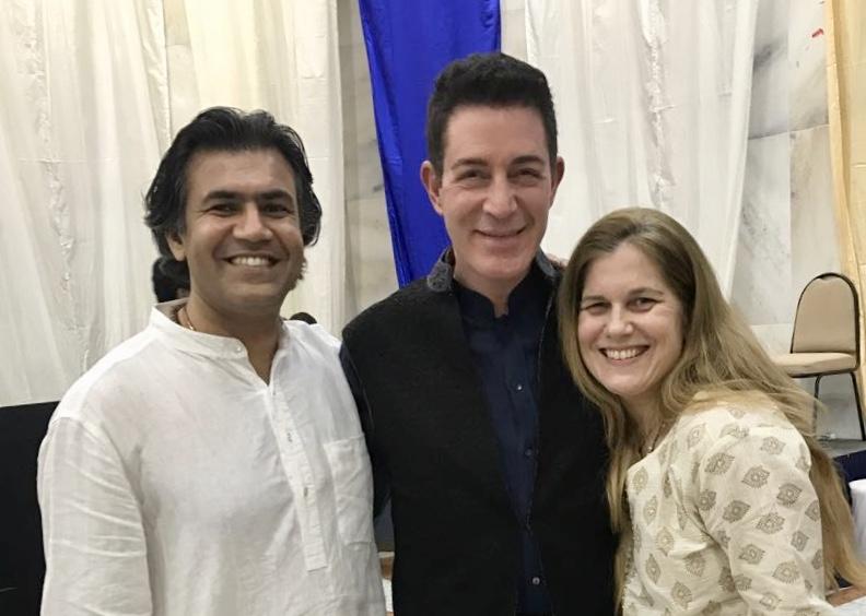 With dr Eric Pearl, Mumbai, India, december 2016